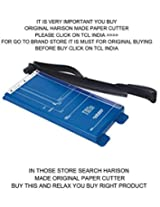 Solid Paper Cutter Trimmer Cutters by Harison 12 inch Support A4 A3 All Photo Paper Cutting