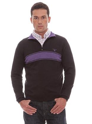 Gant Jersey Cremallera (gris)