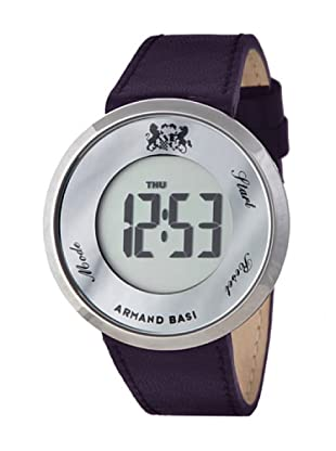 ARMAND BASI A961L03 - Reloj Señora mov cuarzo correa piel lila