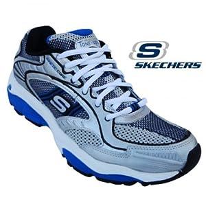 Skechers Men's Sports Shoe 51501-Silver Blue