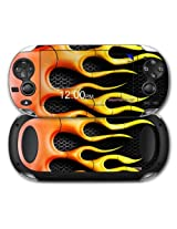 Sony Ps Vita Skin Metal Flames By Wraptor Skinz
