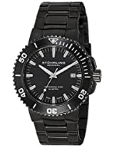 Stuhrling Original Analog Black Dial Men's Watch - 749.03