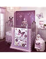 Butterfly Lane 6 Piece Baby Crib Bedding Set by Lambs & Ivy