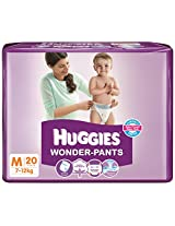 Huggies Wonder Pants Diapers (Medium) - 20 Count