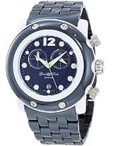Glam Rock Women's GK1144 Miami Beach Chronograph Navy Blue Dial Watch