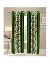 Sai Arpan Green Door Curtain