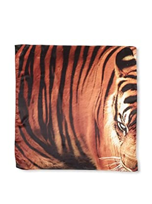 CHIC Women's Tiger Digital Square Silk Scarf, Multi, One Size