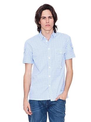 Gio Goi Camisa Strouble (Azul)