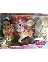Disney Princess Petite Belle And Pony Beauty And The Beast Doll Playset Toy
