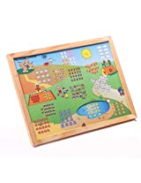 Magnetic Twin Play Tray - Number Scene (1-20)