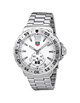 Tag Heuer F1 White Dial Stainless Steel Men'S Watch - Thwau1113Ba0858