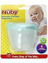 Nuby Formula Powder Dispenser, Colors May Vary