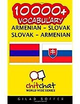 10000+ Armenian - Slovak, Slovak - Armenian Vocabulary