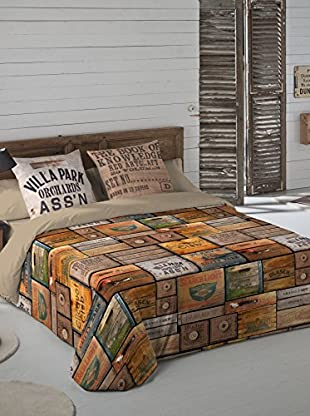 Euromoda Juego De Funda Nórdica Wood Box