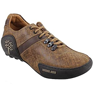 Woodland Lace-up Shoes, Chikoo Brown