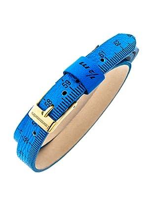 Ilmezzometro Pulsera Fluo (Azul / Dorado)