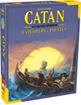 Mayfair Games Catan Explorers and Pirates 5-6 Player Extension 5th Edition, Multi Color