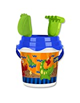 Stephen Joseph Beach Bucket Alligator/Crab, Multi Color