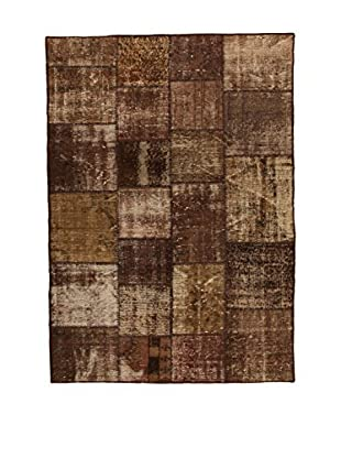 Design Community By Loomier Alfombra Anatolian Patchwork Marrón 300 x 400 cm