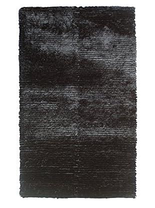 The Rug Market Dotted Motion Rug, Black, 4' 7