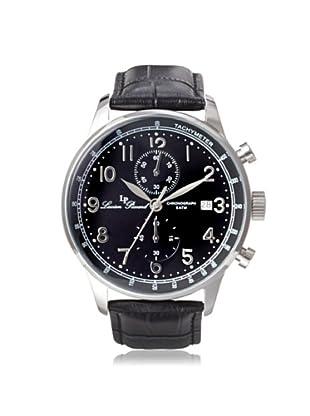 Lucien Piccard Men's 10503-01-BK Montilla Chronograph Black Leather Watch