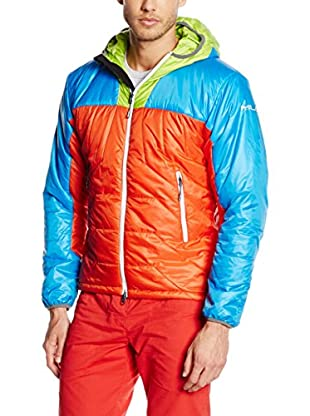 Milo Steppjacke Bomo orange/blau/grün S