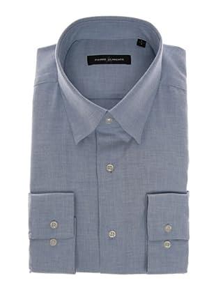 Pierre Clarence Camisa de manga larga (Azul infierno)