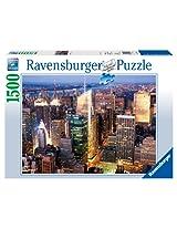 Ravensburger Midtown Manhattan, Nyc - 1500 Pieces Puzzle