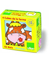 Vilac Farm Animal Blocks