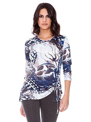 Steilmann Camiseta Estampado (Azul)