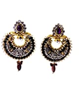 Aabhushan Jewels Gold-Plated Dangle & Drop Earings For Women Gold