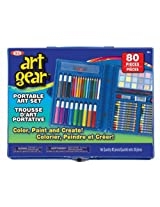 Ideal 80-Piece Art Gear Set