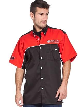 Kenrod Camisa Manga Corta (rojo / negro)