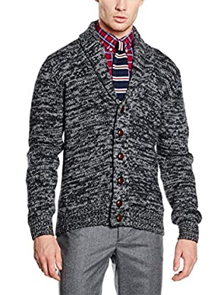Hackett London Chaqueta Punto Lana Hvy Shawl Crd