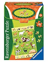 Ravensburger Animals and their Babies Educational Puzzle (80 Piece)