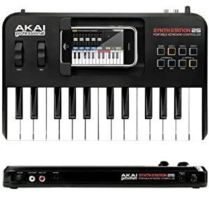 AKAI SynthStation25 iPhone用キーボード・コントローラー
