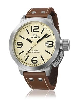 TW Steel Reloj TW21N Marrón 50 mm