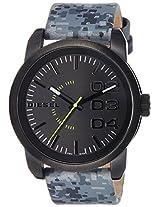 Diesel End of Season Double Dow Analog Black Dial Men's Watch - DZ1664