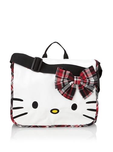 Hello Kitty Mad For Plaid Messenger Bag