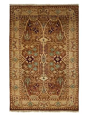 Darya Rugs Ottoman Oriental Rug, Chocolate, 4' 2