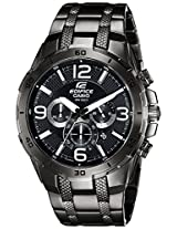 Casio Edifice Stopwatch Chronograph Black Dial Men's Watch - EFR-538BK-1AVUDF (EX179)