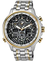 Citizen Eco-Drive Navihawk A-T Atomic Mens Watch Jy8034-58E