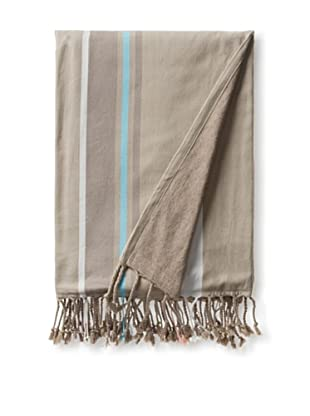 Nine Space Sunset Terry Beach Blanket, Grey