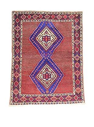 L'Eden del Tappeto Teppich Afshari rot/blau 167t x t127 cm