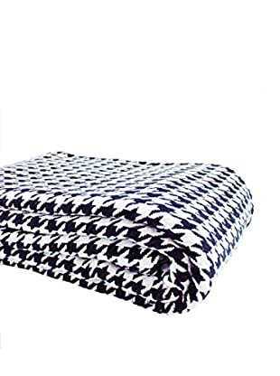 Mélange Home Yarn Dyed Cotton Houndstooth Blanket