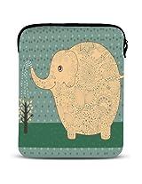 """Yellow Elephant 9.7"""" iPad Air Case/ipad sleeve/ipad 5 case/ipad pouch/ipad carrying bag/10.1"""" Samsung Galaxy Tab case/sleeve case bag for apple ipad 2/3/4/5 /"""