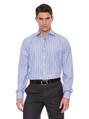 Hackett Camisa Rayas Azul / Blanco 39