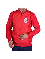Leegs Men's Sweatshirt (3018_Red_X-Large)