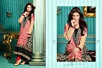 Top Pure Cotton with Cotton Bottom & Chiffon Dupatta with Embroidery Work Unstitched Salwar Kameez