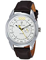 Optima Analog White Dial Men's Watch - OFT-2431 WH